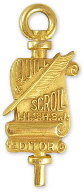 Quill and Scroll Membership Pin